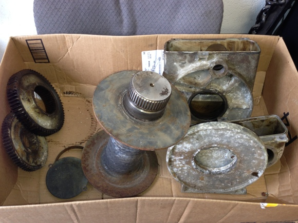 Warn 8274 Parts For Cleaning Break Assembly